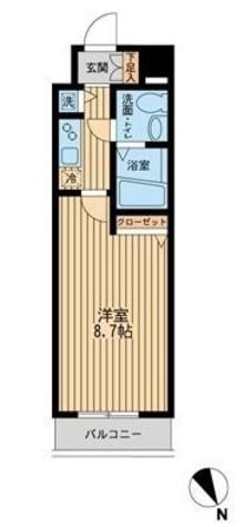 Humanハイム仲町台 / 5階 部屋画像1