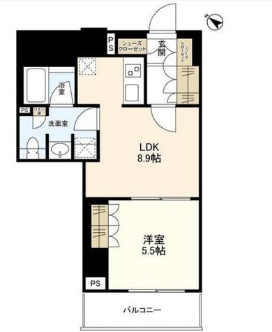 神山フォレスト / 3階 部屋画像1