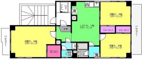 ピュアコートf / 2階 部屋画像1