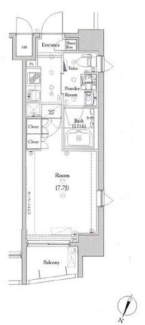 ヴォーガコルテ板橋本町Ⅱ / 5階 部屋画像1