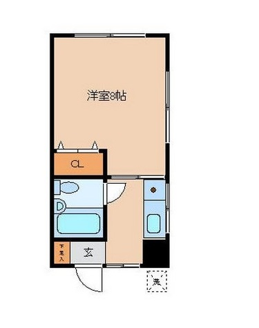 綱島ビル / 4階 部屋画像1