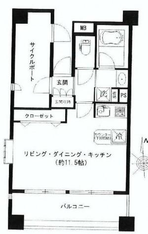 ルモンド恵比寿 / 1005 部屋画像1