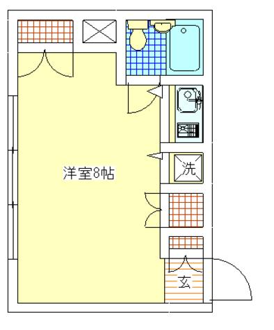 自由が丘FUKI / 205 部屋画像1
