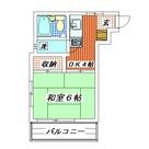 コーポさかえ / 203 部屋画像1