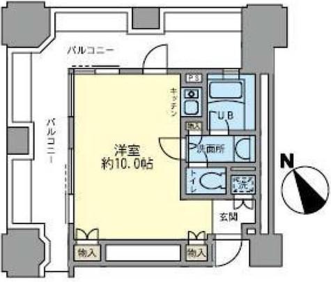 ルネ新宿御苑タワー / 15階 部屋画像1