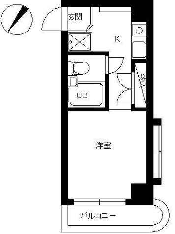 スカイコート神奈川新町 / 401 部屋画像1