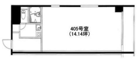 山京目黒ビル / 405 部屋画像1