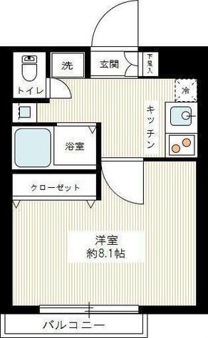 ヴェルト武蔵小杉WEST / 2階 部屋画像1