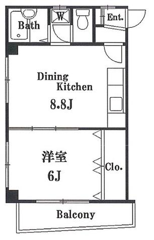 タイムハイツ湯島 / 2階 部屋画像1
