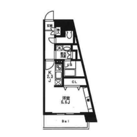 ディアレンス横濱沢渡 / 501 部屋画像1
