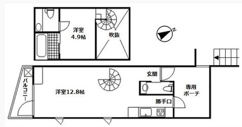 シルエット元代々木 / 404 部屋画像1