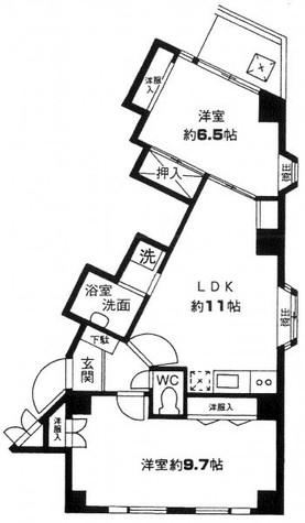 リバレージ白山 / 2階 部屋画像1