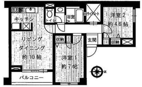 プラザリー等々力 / -1階 部屋画像1