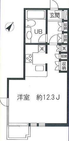 目黒イースト / 4階 部屋画像1