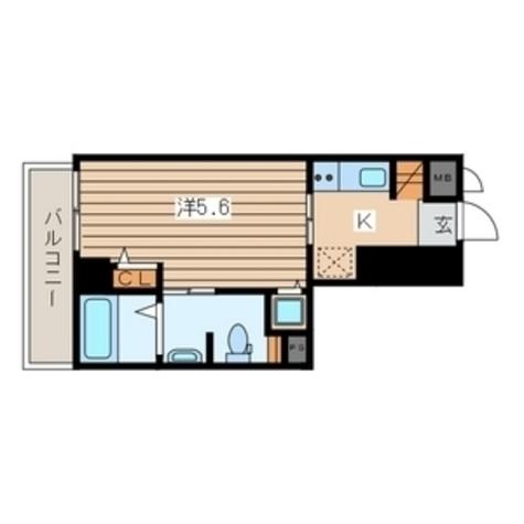 横浜翠葉BuildingⅠ(ビルディング) / 702 部屋画像1
