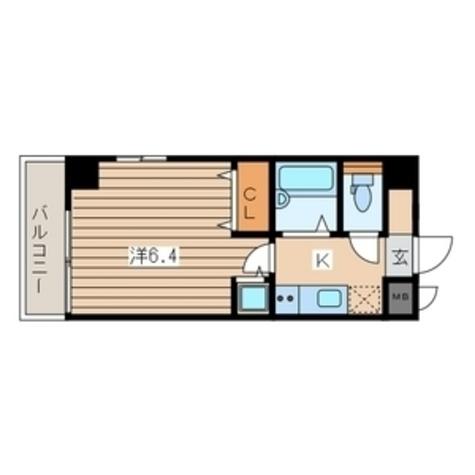 横浜翠葉BuildingⅠ(ビルディング) / 601 部屋画像1