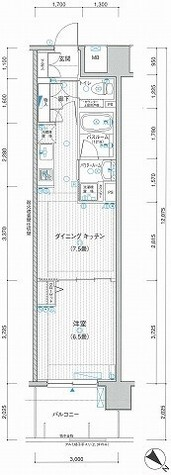 LA.PRYLE新横浜(エルエープライル新横浜) / 5階 部屋画像1