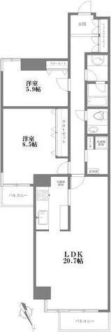 六番町ガーデン / 7階 部屋画像1