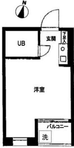 ハイシティ笹塚 / 103 部屋画像1