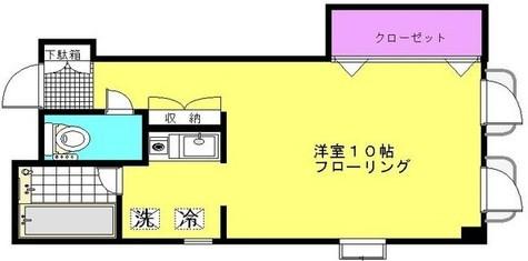 信濃町三番館 / 301 部屋画像1