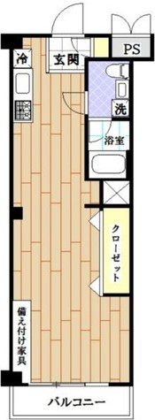 秀和新宿番衆町レジデンス / 4階 部屋画像1
