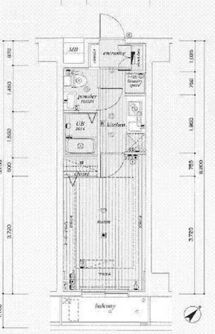 ミリオンステーションプラザ鶴見市場 / 703 部屋画像1