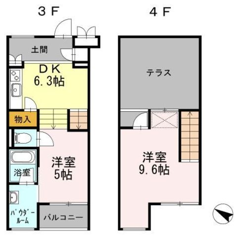 ライトハウス / 303 部屋画像1