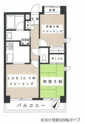 サンクバトー横浜 / 401 部屋画像1
