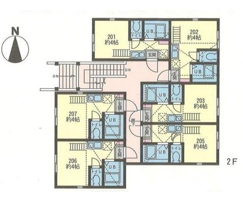 ヒルズ反町A棟・B棟 / 202 部屋画像1