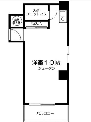 ライオンズプラザ恵比寿 / 10階 部屋画像1