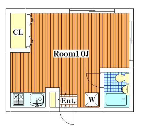 尾山台 15分アパート / 203 部屋画像1