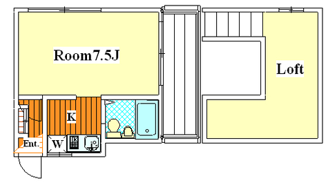 武蔵新城 8分マンション / 205 部屋画像1