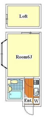 武蔵新城 8分マンション / 301 部屋画像1