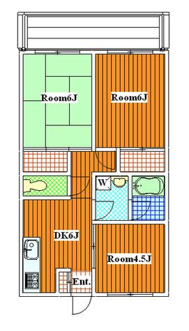駒沢大学 15分マンション / 103 部屋画像1