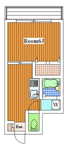 ブレスフォート / 201 部屋画像1