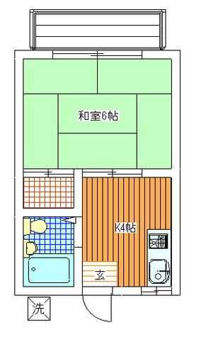 田園調布 15分アパート / 205 部屋画像1