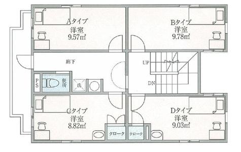 ドールマウスハウス / 2階 部屋画像1