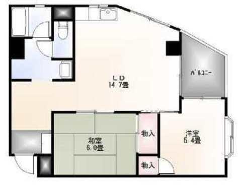 目黒パークスクエア / 706 部屋画像1