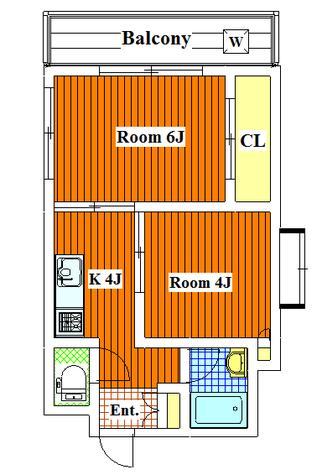 Mアルカディア / 304 部屋画像1