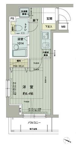 メインステージ西新宿 / 5階 部屋画像1