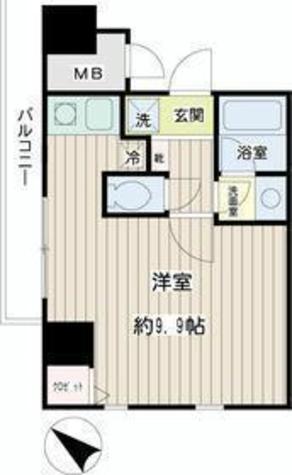 コニファー新子安 / 4階 部屋画像1