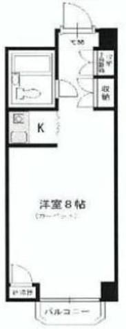 カルム赤坂 / 1階 部屋画像1
