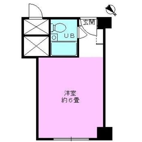 秀和赤坂レジデンシャルホテル / 4階 部屋画像1