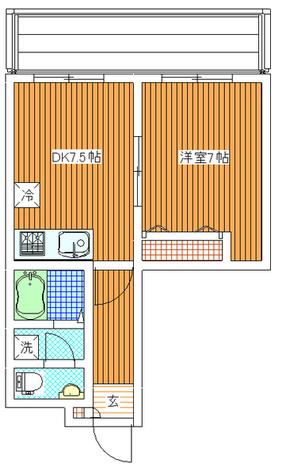 ルネス木嶋 / 303 部屋画像1