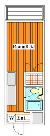 クレオ尾山台 / 302 部屋画像1