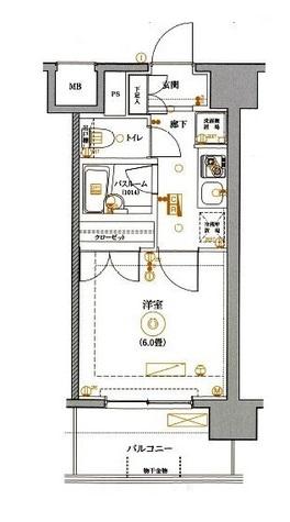 MAXIV関内(マキシヴ関内) / 2階 部屋画像1