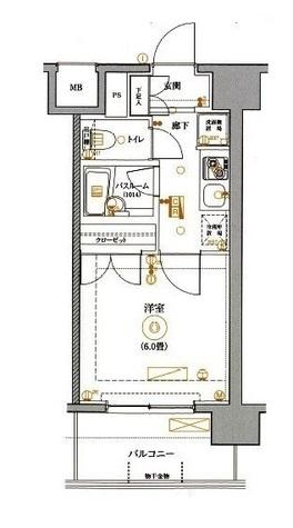 MAXIV関内(マキシヴ関内) / 8階 部屋画像1