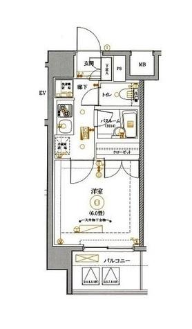 MAXIV関内(マキシヴ関内) / 7階 部屋画像1