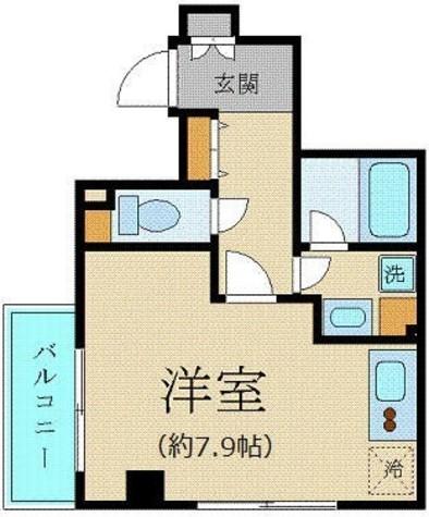 プレール・ドゥーク新宿御苑 / 3階 部屋画像1