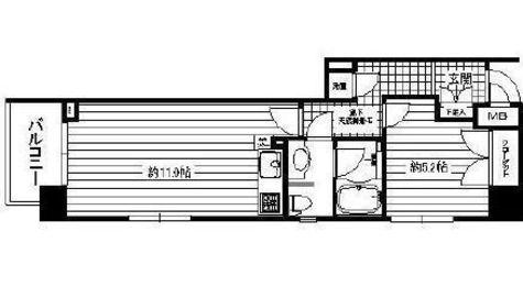 パール新子安 / 7階 部屋画像1